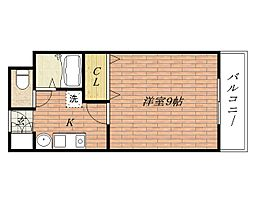 ユニバーサルコート[3階]の間取り