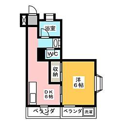 宮嶋ビル[5階]の間取り