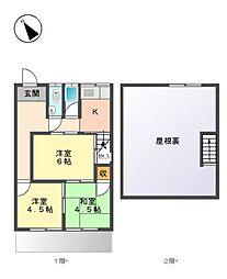 [一戸建] 愛知県名古屋市名東区陸前町 の賃貸【/】の間取り
