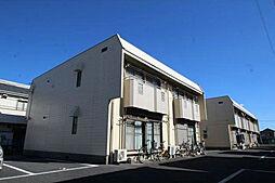 埼玉県越谷市宮本町5丁目の賃貸アパートの外観