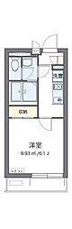 阪急京都本線 崇禅寺駅 徒歩7分の賃貸マンション 2階1Kの間取り