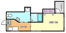 第2昭和ビル[4階]の間取り