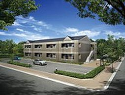 埼玉県鶴ヶ島市大字脚折の賃貸アパートの外観