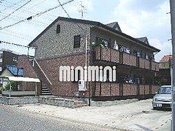 愛知県名古屋市中川区細米町1の賃貸アパートの外観