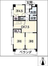 Le.NOTRE.1[4階]の間取り