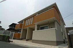 兵庫県加古川市東神吉町西井ノ口の賃貸アパートの外観