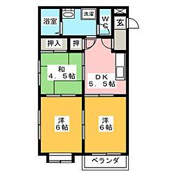 中島ビル[2階]の間取り