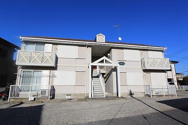 サンフローラK[2階]の外観