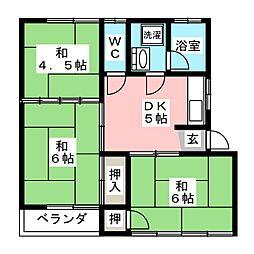 伊島コーポ[2階]の間取り