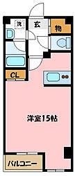 埼玉県さいたま市中央区下落合4丁目の賃貸マンションの間取り