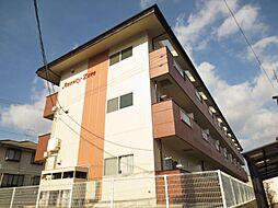 広島県東広島市西条中央6丁目の賃貸アパートの外観