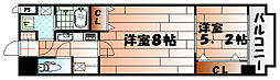 木下鉱産ビル三[1007号室]の間取り
