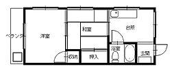 長崎県長崎市西小島2丁目の賃貸マンションの間取り