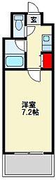 K・T 大橋[4階]の間取り