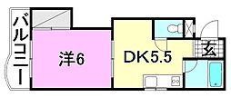 ハイツソレイユ[106 号室号室]の間取り
