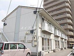 岡山県岡山市南区豊成1の賃貸アパートの外観