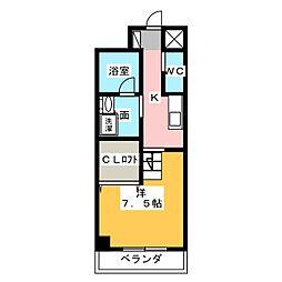 天王町コンフォート[9階]の間取り