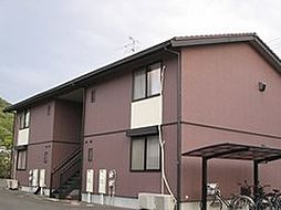 岡山県岡山市中区国富1丁目の賃貸アパートの外観