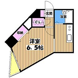 HF国分寺レジデンス[7階]の間取り