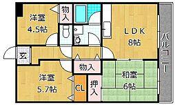 Residence21 - レジデンス[3階]の間取り