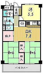 長岡京市馬場見場走り