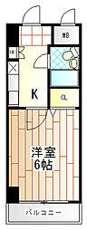 日神パレステージ町田[4階]の間取り