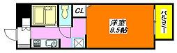 サンビレッジ・デグチII B棟 203号室[2階]の間取り