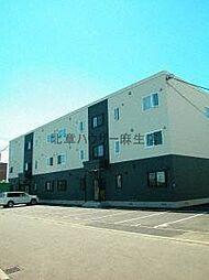 北海道札幌市北区屯田九条9丁目の賃貸アパートの外観