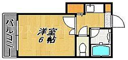 プロスペリテ高砂[2階]の間取り