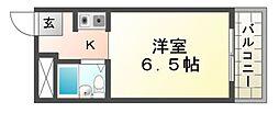 プリエールJR尼崎駅前[4階]の間取り