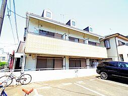 東京都小平市花小金井5丁目の賃貸アパートの外観