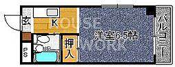 ぱんぷきんハウス[301号室号室]の間取り