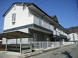 兵庫県姫路市北原の賃貸マンションの外観