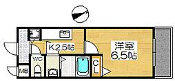 ファインコート北三国丘[2階]の間取り