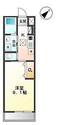 袖ケ浦市代宿97番5他新築アパート[103号室]の間取り