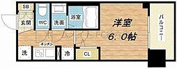 エステムプラザ福島ジェネル[4階]の間取り