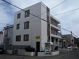 北海道札幌市白石区南郷通17丁目南の賃貸マンションの外観