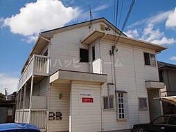 兵庫県姫路市飾磨区西浜町3の賃貸アパートの外観