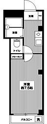 マーブルハイツ[0202号室]の間取り