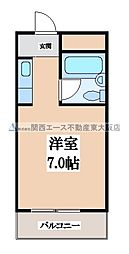 枚岡CTヒルズ[3階]の間取り
