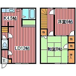 [テラスハウス] 北海道札幌市豊平区月寒東五条17丁目 の賃貸【北海道 / 札幌市豊平区】の間取り