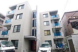 北海道札幌市中央区宮の森一条6丁目の賃貸マンションの外観