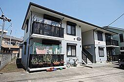 東京都江戸川区松江1丁目の賃貸アパートの外観