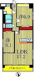 ホビアル・フェンテ[5階]の間取り