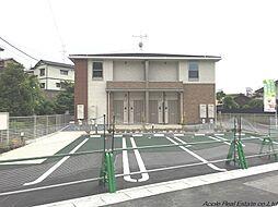 福岡県北九州市若松区二島3丁目の賃貸アパートの外観