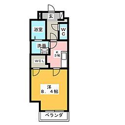 ニスモッカ[1階]の間取り