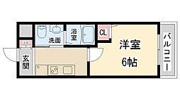 TST稲野駅前[1階]の間取り