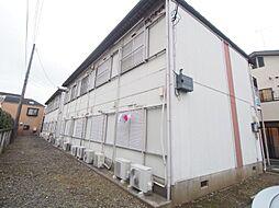 神奈川県川崎市多摩区宿河原2丁目の賃貸アパートの外観