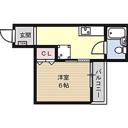 東邦ビル[2階]の間取り