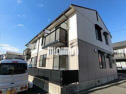愛知県春日井市西本町2丁目の賃貸アパートの外観